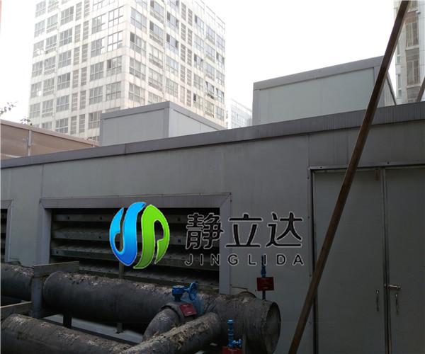 万和大酒店螺杆中央空调噪声治理