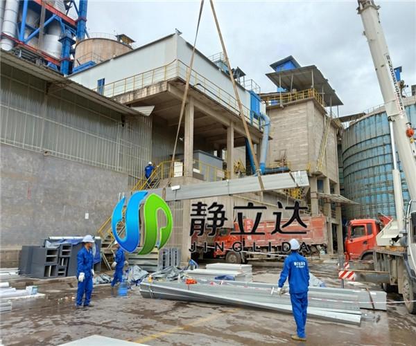 噪音治理公司的湖南益阳水泥厂包装车间降噪