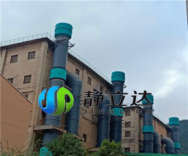 四川噪音处理华新水泥排气消声器
